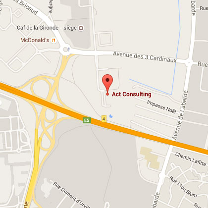 Google Maps - ACT Consulting